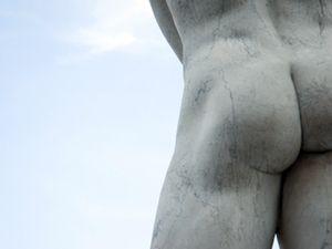 Man caught trespassing in the nude