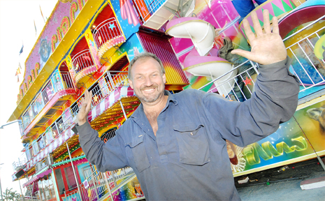 Magic Circus ride owner Emile Verfurth hopes Mackay families enjoy the show and make the most of fantastic rides.