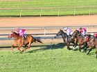 Our Lukas, with Larry Cassidy aboard, races away with the Channel 7 Ipswich Cup (2150m) on Saturday at Ipswich racetrack.