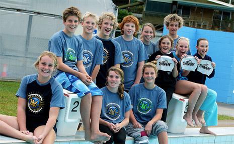 Kingscliff Swimming Club juniors selected in the Australian Junior Excellence Program.