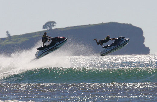Jetskis shouldn't use the river as a race track... FILE IMAGE