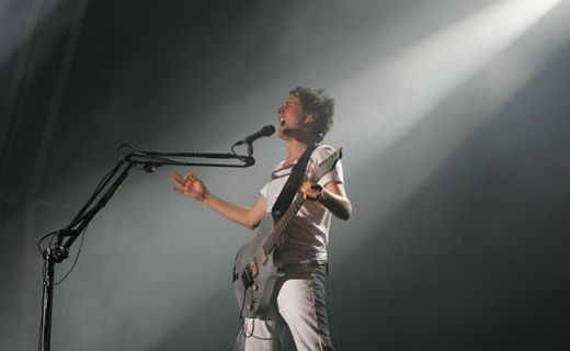 Muse, with frontman Matthew Bellamy (pic), is set to feature at the Closing Ceremony.