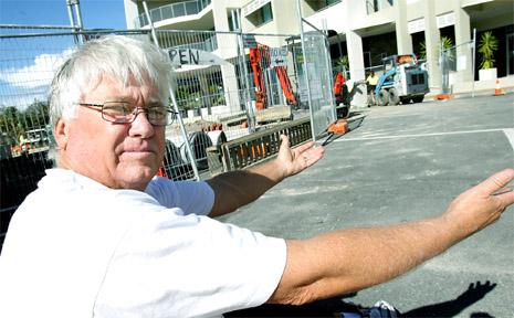 Des Anderson, president of the Cabarita Surf Life Saving Club.