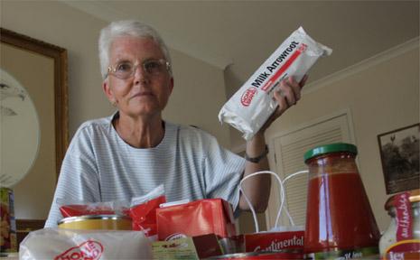 Pensioner advocate Terri Bradley.