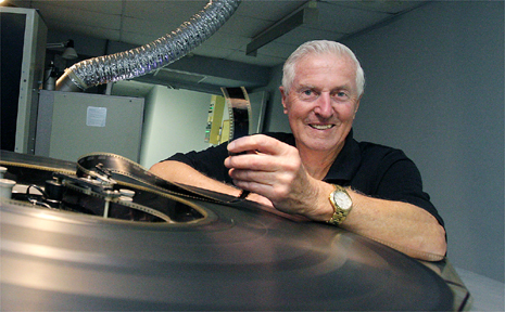 ARTHUR Davie has retired after 50 years as a cinema projectionist.