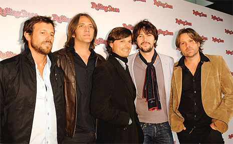 Australian rock band Powderfinger.