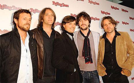 Australian rock band Powderfinger.
