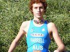 The Coast's Luke Farrell has made the Australian under-19 triathlon team.