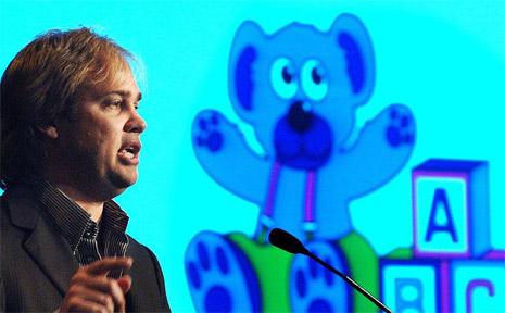 Failed ABC Learning boss Eddy Groves.