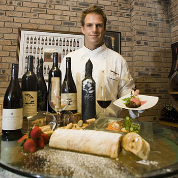 Hyatt Regency Coolum executive chef Thomas Angerer prepares for a weekend full of fine wine and great food. Photo: Jason Dougherty/183252