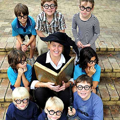 Spellbound: Jally Productions' Ali Pope already has quite a few youngsters lined up to audition for the role of Harry Potter. Photo: Geoff Potter/n23167