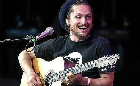 John Butler and his band are a favourite at the Woodford Folk Festival.