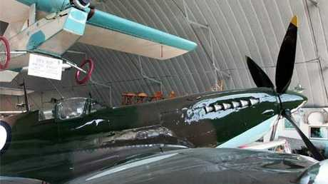 Treasures from the history of flight on show at the Queensland Air Museum.