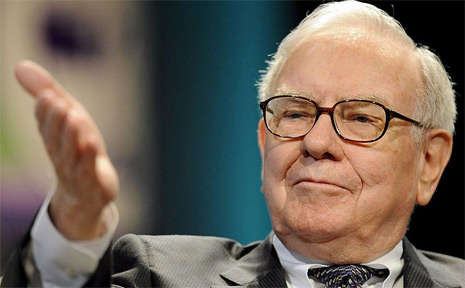 US billionaire and investment guru Warren Buffett.