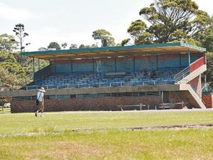 The end for the Brelsford Park grandstand draws near