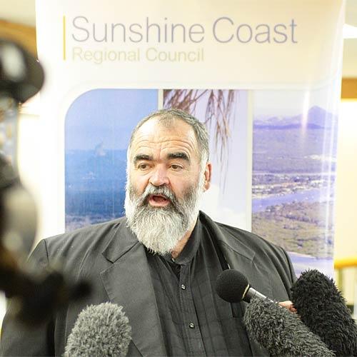 Sunshine Coast mayor Bob Abbot.
