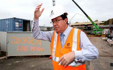 Queensland Deputy Premier Paul Lucas.