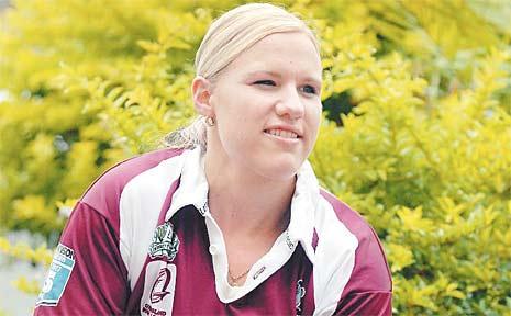 Mackay's Renae Kunst was player of the series last time Queensland met NSW in women's rugby league.