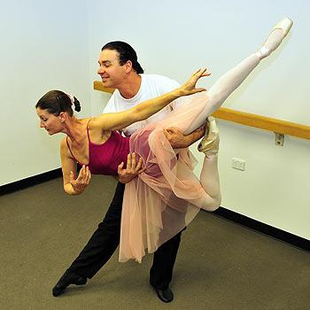 Richard and Deborah Leader in their new Peregian Springs Dance Studio. Photo: Geoff Potter.
