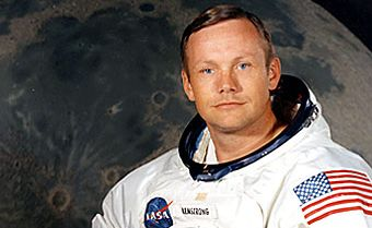 Portrait of Neil Armstrong. Photo courtesty of NASA