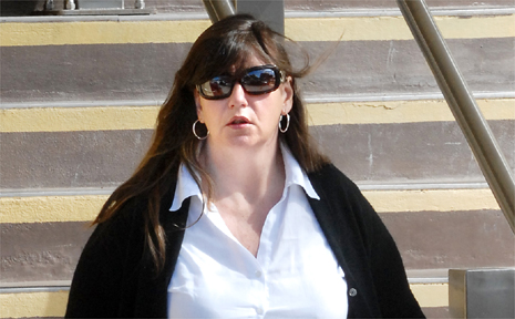 Karen Johnson was placed on probation for two years and ordered to do 40 hours of unpaid community service.