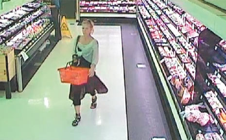 Police arrested this 30-year-old woman after the publication of this CCTV image.