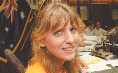 Councillor Katie Milne.