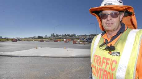 Traffic controllers are required in the Toowoomba region.