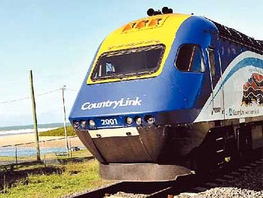 Train commuters were left stranded on a train for almost 17 hours north of Coffs Harbour.