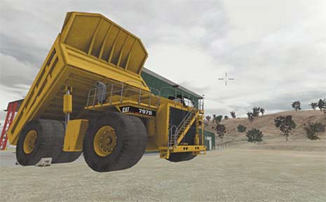 Bowen Basin miners and contruction industry workers can now access a virtual-world training tool, Project Canary, that should reduce injuries.