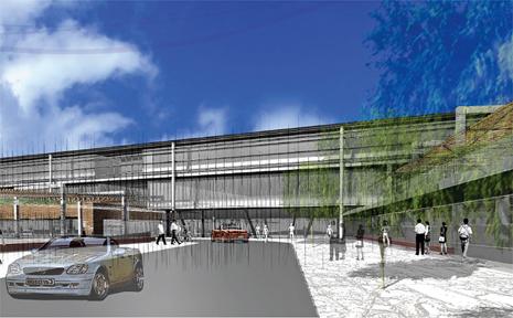 Artist impression of the propsed Mackay Base Hopital upgrade