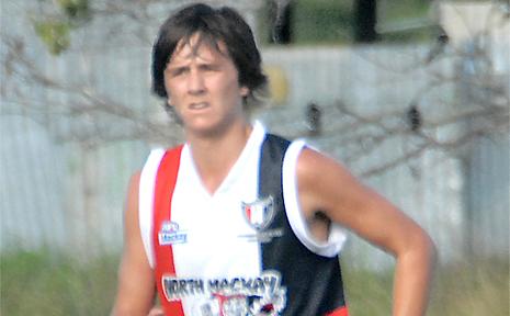 Tyler Jones represented Queensland in schoolboys AFL.