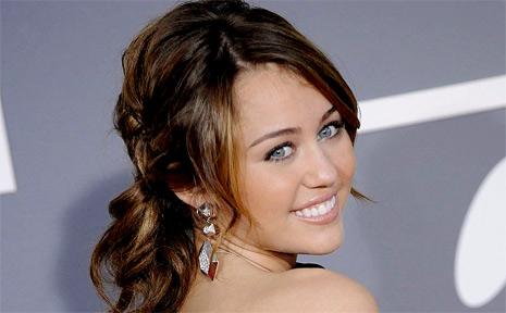 Teen superstar Miley Cyrus.