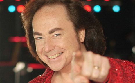 Bobby Bruce chanels Neil Diamond for his tribute show.