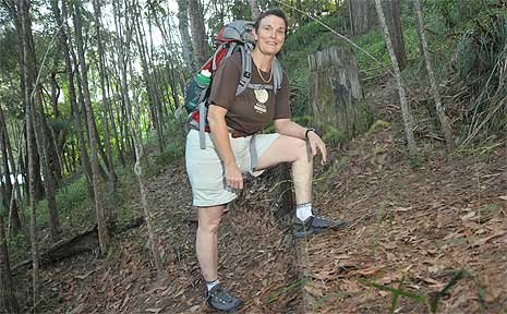 Dr June Canavan is one of the nine Australians missing in Papua New Guinea.
