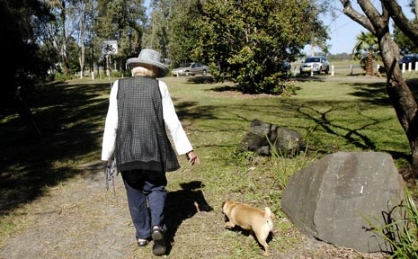 INTIMIDATED: This Ballina woman says she can no longer visit her favourite dog walking park for fear of seeing men meeting to have sex.