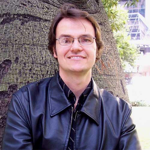 149430 Sunshine Coast poet Nathan Shepherdson has been included in Joan Burton-Jones' new book on unique Queenslanders, Queenslander All Over. Photo: Tenille Bonogoure/149430