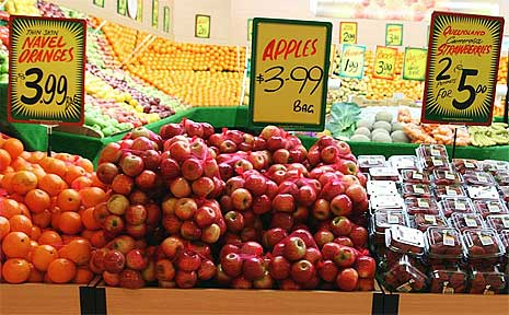 Head to one of Logan's markets to get your fresh produce this weekend.
