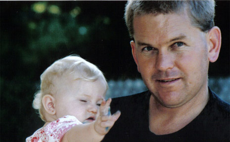 Mark Kuhnell and his daughter Maddison.
