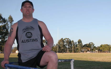LAYTON LEAVING: Former Panthers A grade coach Layton Campbell looks back at his time at the club before heading back to Brisbane.