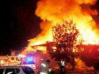 Fire destroys historic pub