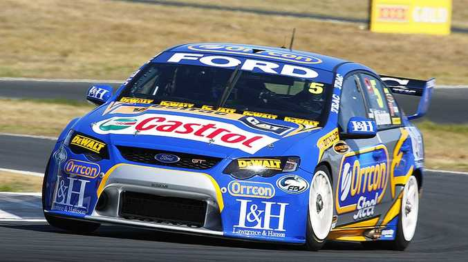 Mark Winterbottom erased any doubt about his ability to compete at this weekend's Super GP V8 by qualifying fastest for today's top-10 shootout.