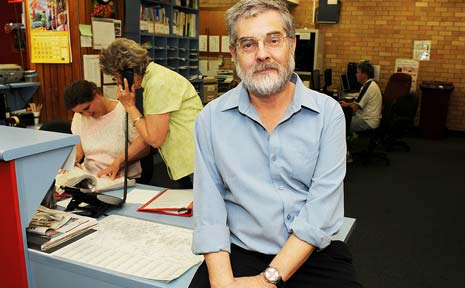 CHANGING TIMES: The manager of the Lismore and District Financial Counselling, Steve Snelgrove, said the number of local people getting into financial trouble has been increasing on a weekly basis since the financial downturn.