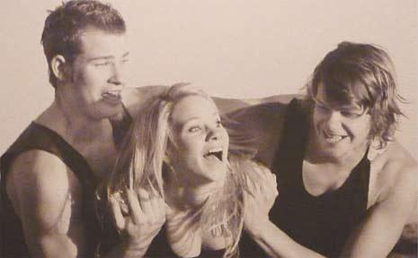 Adam, Robyn and Jason Scorer.