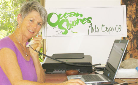 """Ocean Shores Art Expo registrar Maggie Golightly: """"This feels like the most responses we've ever had."""""""