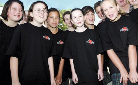 Murwillumbah Public School's talented choir sing the