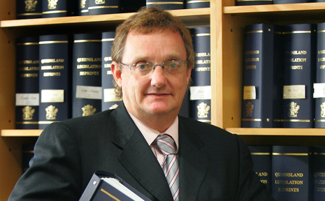 Former CQ judge, Justice Peter Dutney served in Rockhampton Supreme Court for eight years.