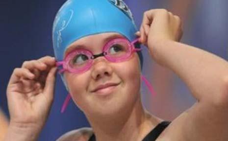 BALLINA Swim Team's Caitlin Bigg.