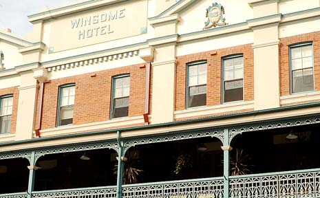 COUNCIL KEEPS PROMISE: Lismore Council has given the Soup Kitchen $100,000 towards the purchase of the Winsome Hotel (pictured).