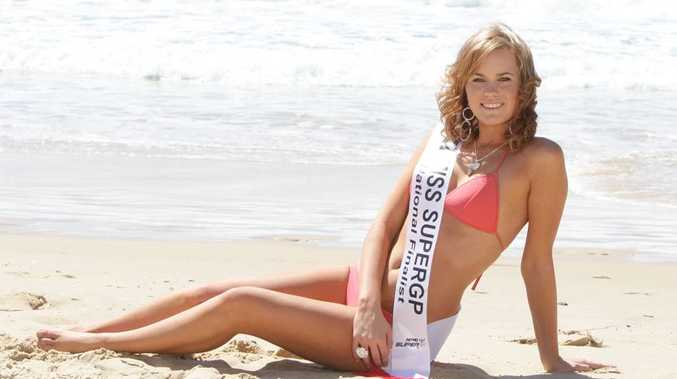 Mooloolaba sales assistant Damara Graham, 19, is a finalist in the search for Australia's ultimate sports model. (185004)